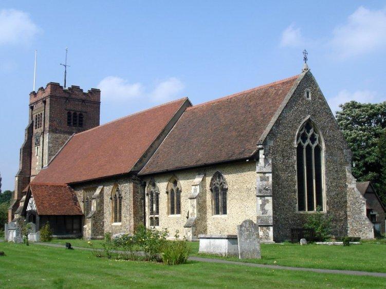 pano Peter Meadows all saints church