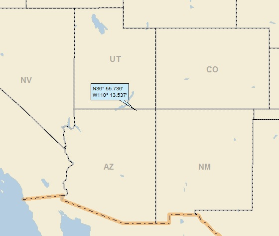 Map Of Arizona Monument Valley.Monument Valley Arizona A Landing A Day