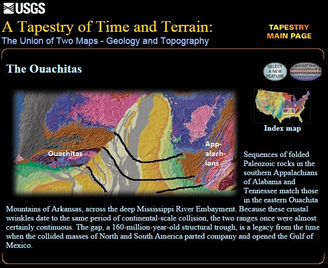 USGS tapestry