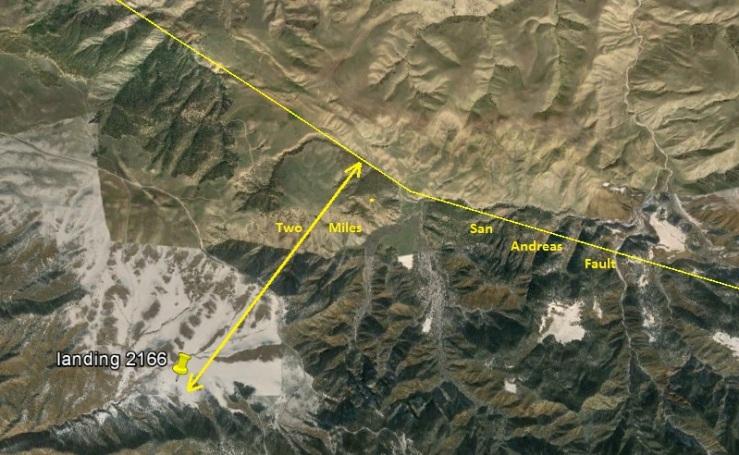 GE 1 San Andreas Fault