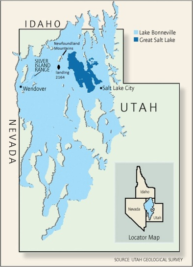 lake bonneville map