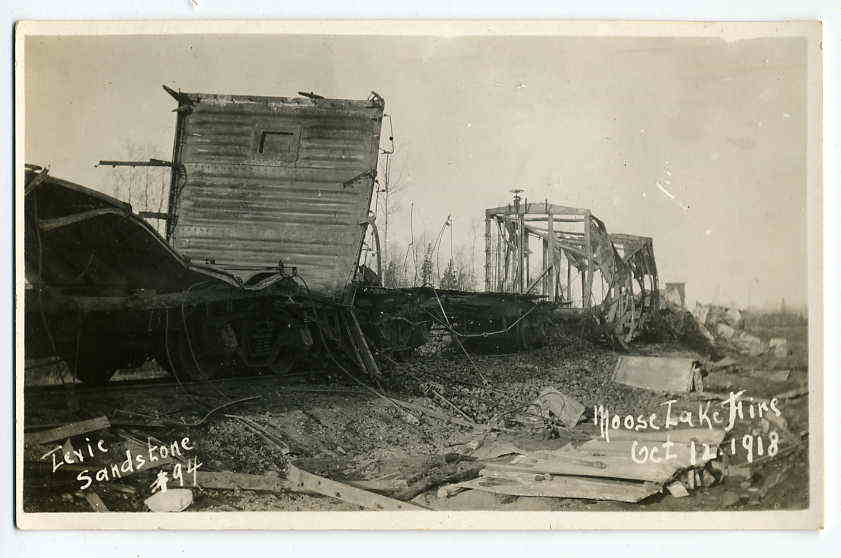 Moose Lake MN Fire 10-12-1918