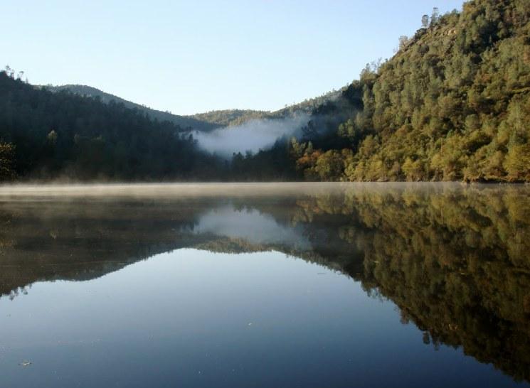 pano kerckhoff lake by CALedbetter