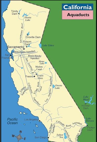 California Aqueduct A Landing a Day