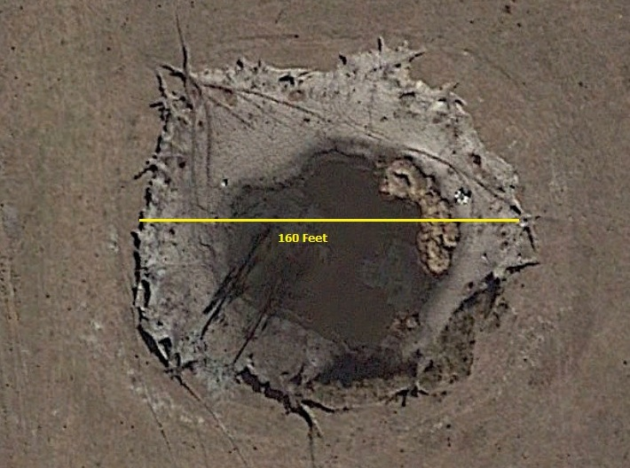 GE 2 sinkhole