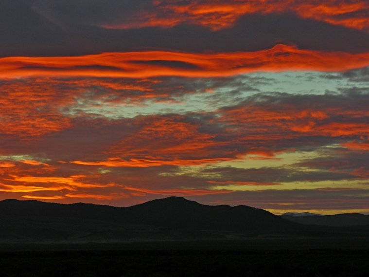 pano ralph maughan sunset