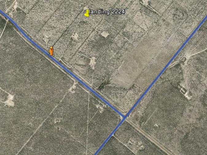 SV landing map