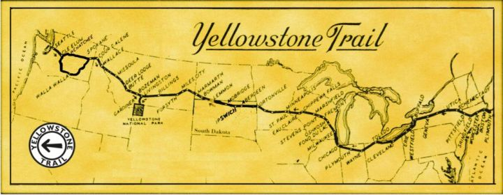 Yellowstone_Trail_Map