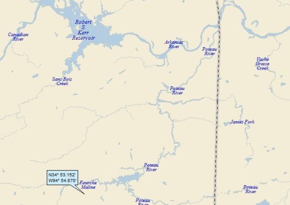 Talihina Oklahoma Map.Talihina Oklahoma A Landing A Day