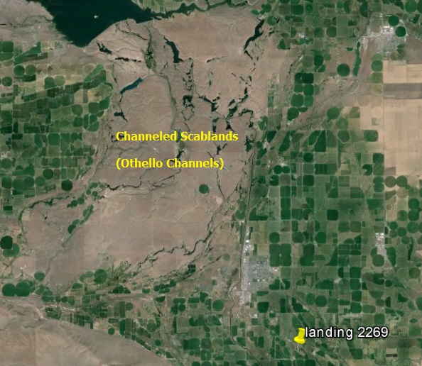 Scablands Washington Map.Ge Scablands A Landing A Day