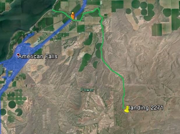 ge sv creek map