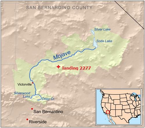 Mojaverivermap