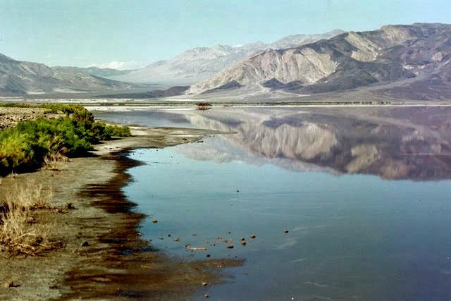 pano sierrabasin low point, saline valley