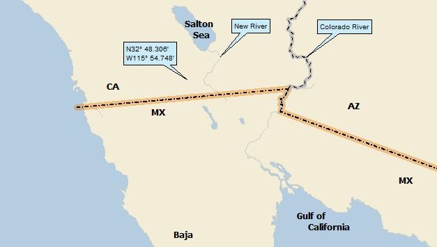 Salton Sea California A Landing a Day