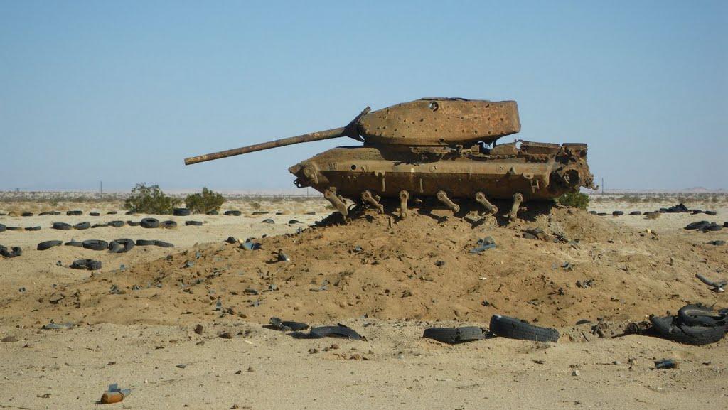 pano Joachim Cheung M-60 tank