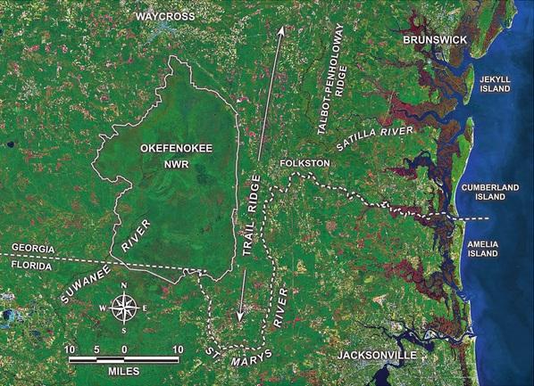 Saint George Florida Map.Trail Ridge Map A Landing A Day