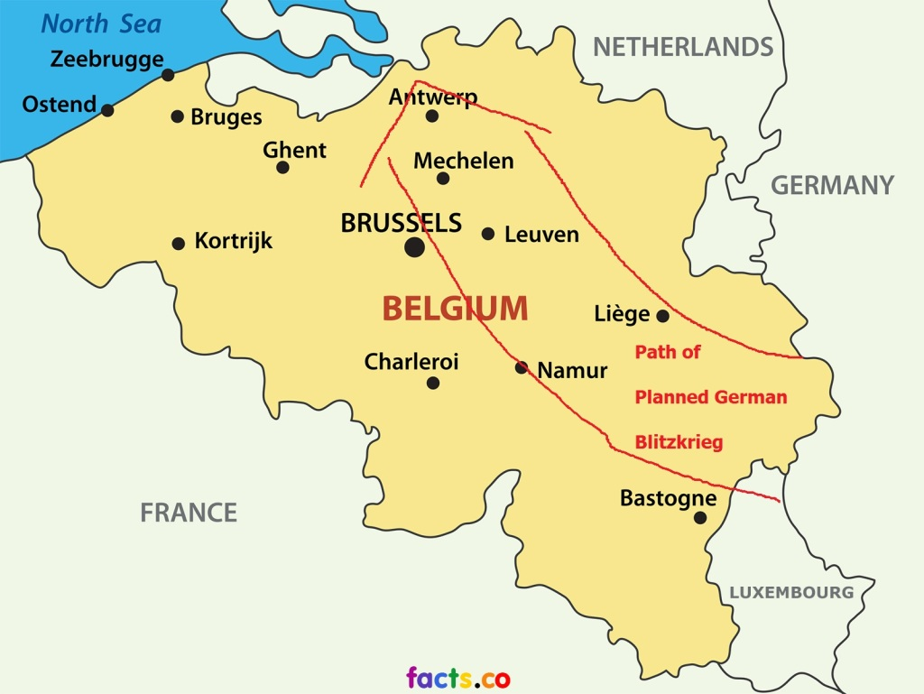 belgiummapwithcities