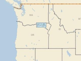 Halfway Oregon Map.Cornucopia Oregon A Landing A Day