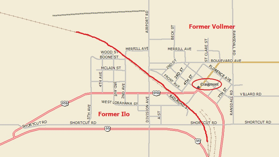Winchester Idaho Map.Craigmont Map A Landing A Day