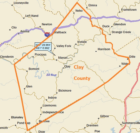 Clay county wv a landing a day ill put the clay county map up again publicscrutiny Choice Image