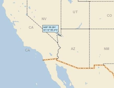 Pearce Arizona Map.Pearce Ferry Arizona A Landing A Day